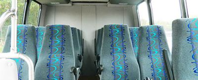 Sightseeing Tours, Interior of Comfortable Bus